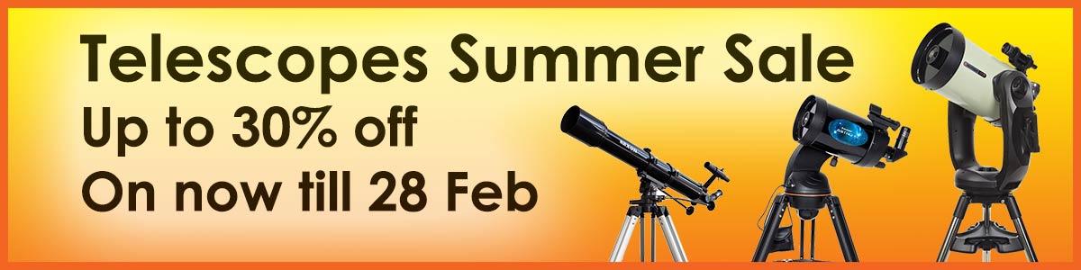 Telescopes Summer 2019 Sale