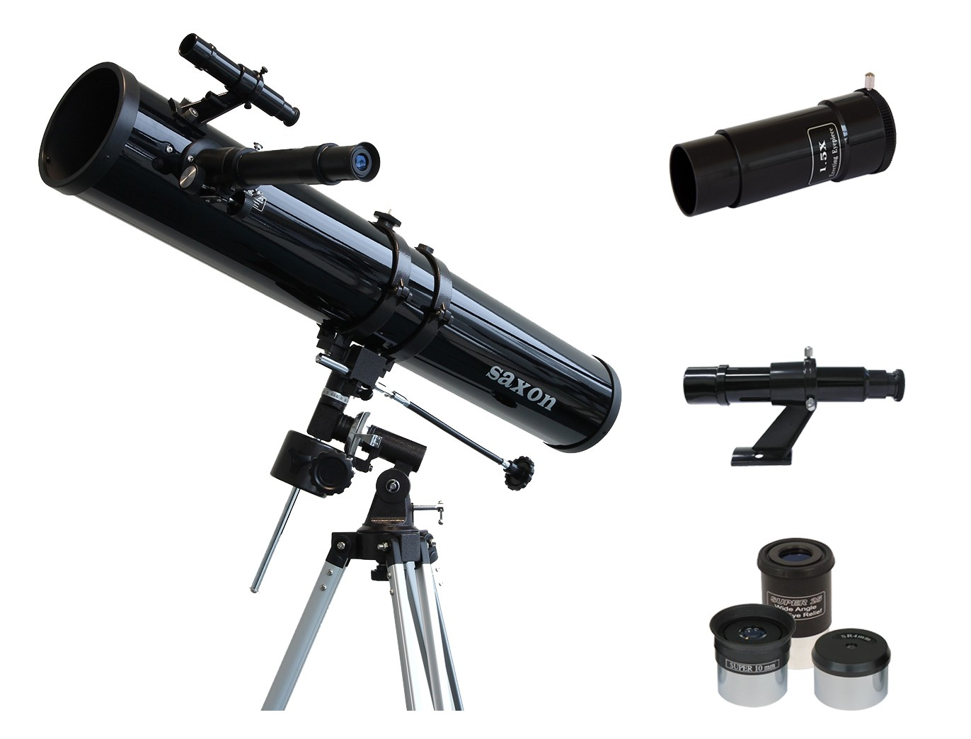 saxon 1149EQ Reflector Telescope