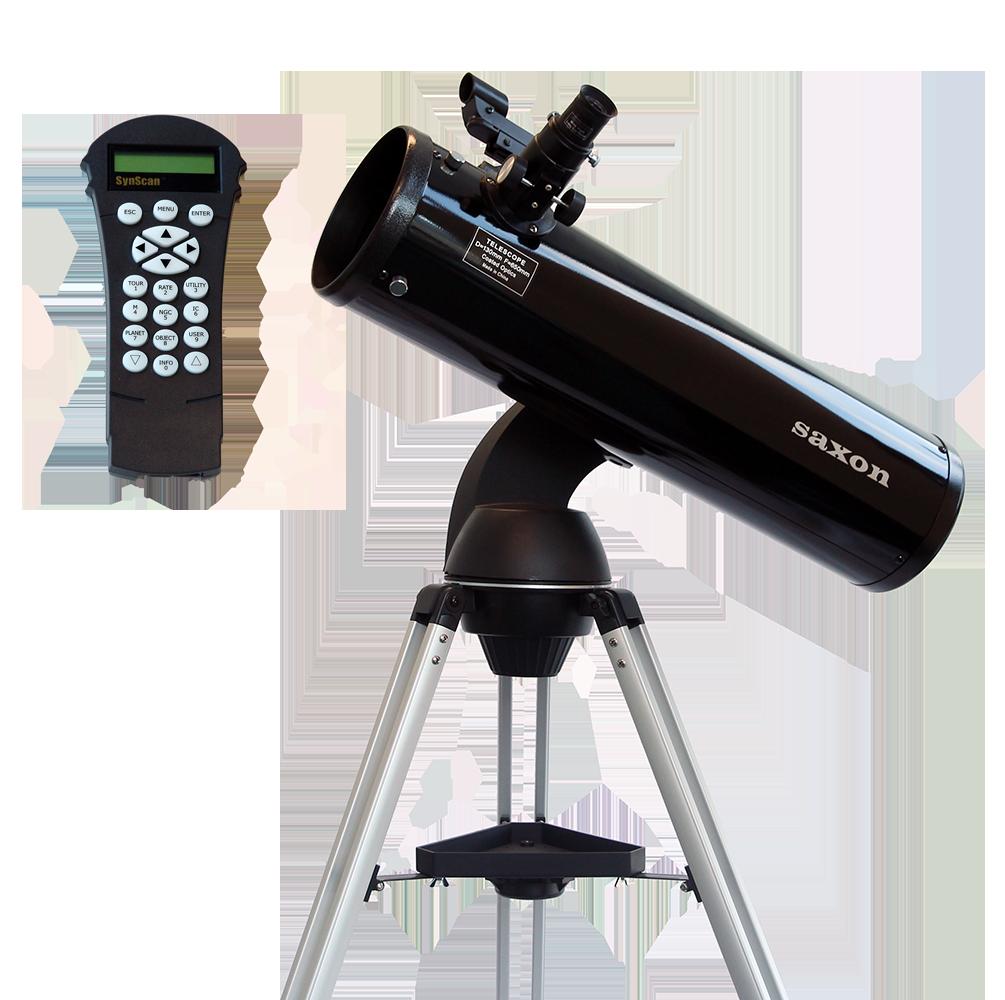 saxon 13065 AZ GT Reflector Telescope with SynScan Controller
