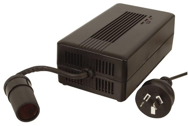 Powertech 12V 7.5A AC Power Adapter with Cigarette Lighter Socket