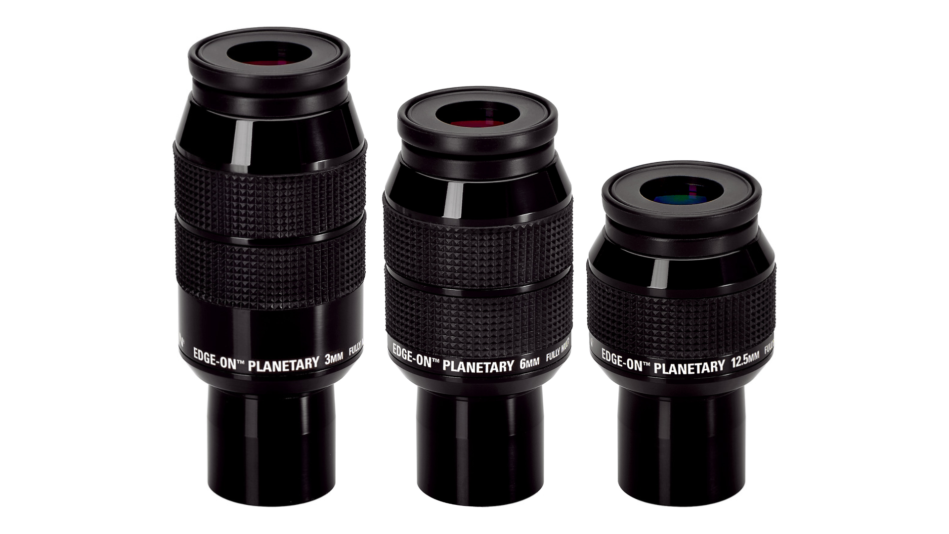 Orion Edge-On Planetary Eyepiece Set (12.5mm, 6mm, and 3mm)