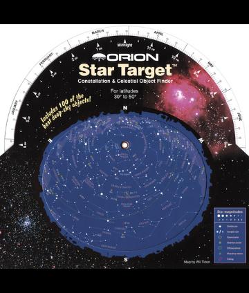 Orion Star Target Planisphere 30-50 Degree (Northern Hemisphere)