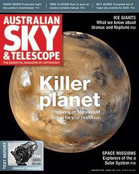 Australian Sky & Telescope Magazine Jan 2020