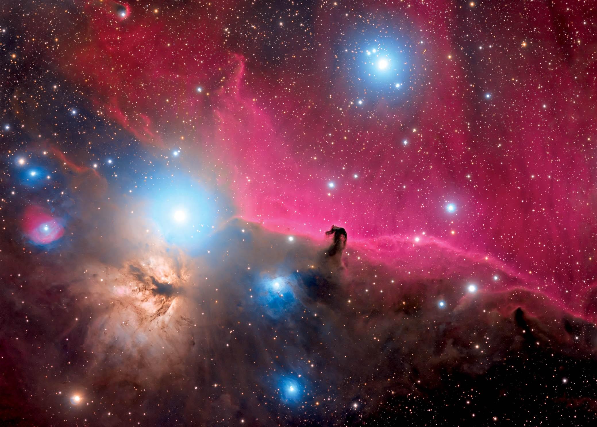 Astrovisuals Postcard - Horsehead Nebula