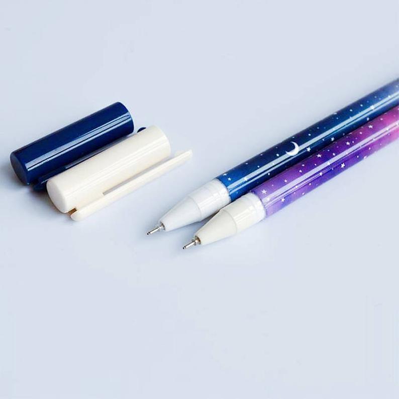 Starry Sky Galaxy Gel Pen Set of 2