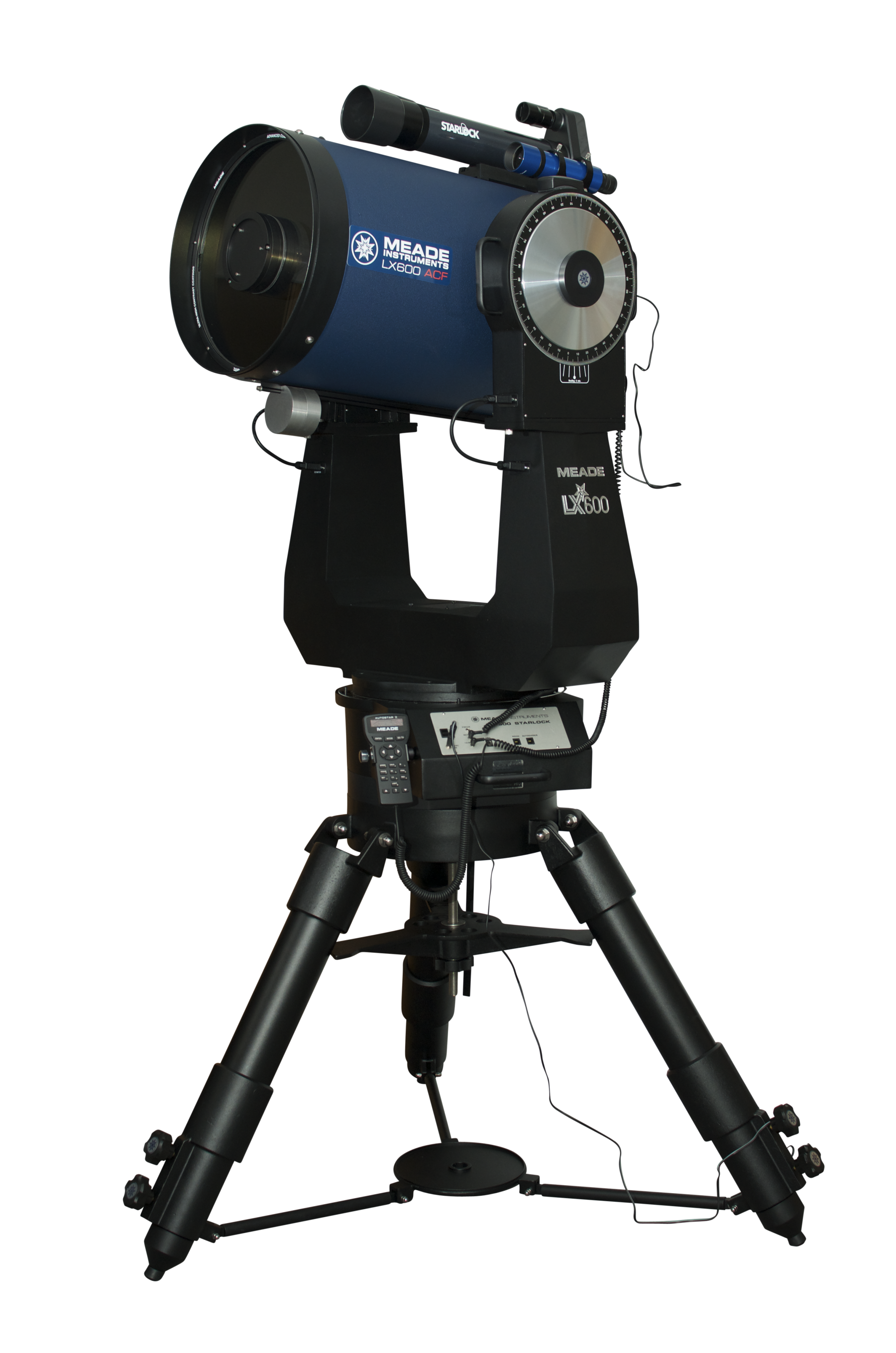Meade LX600 ACF 16in F/8 with Super Giant Field Tripod and Starlock