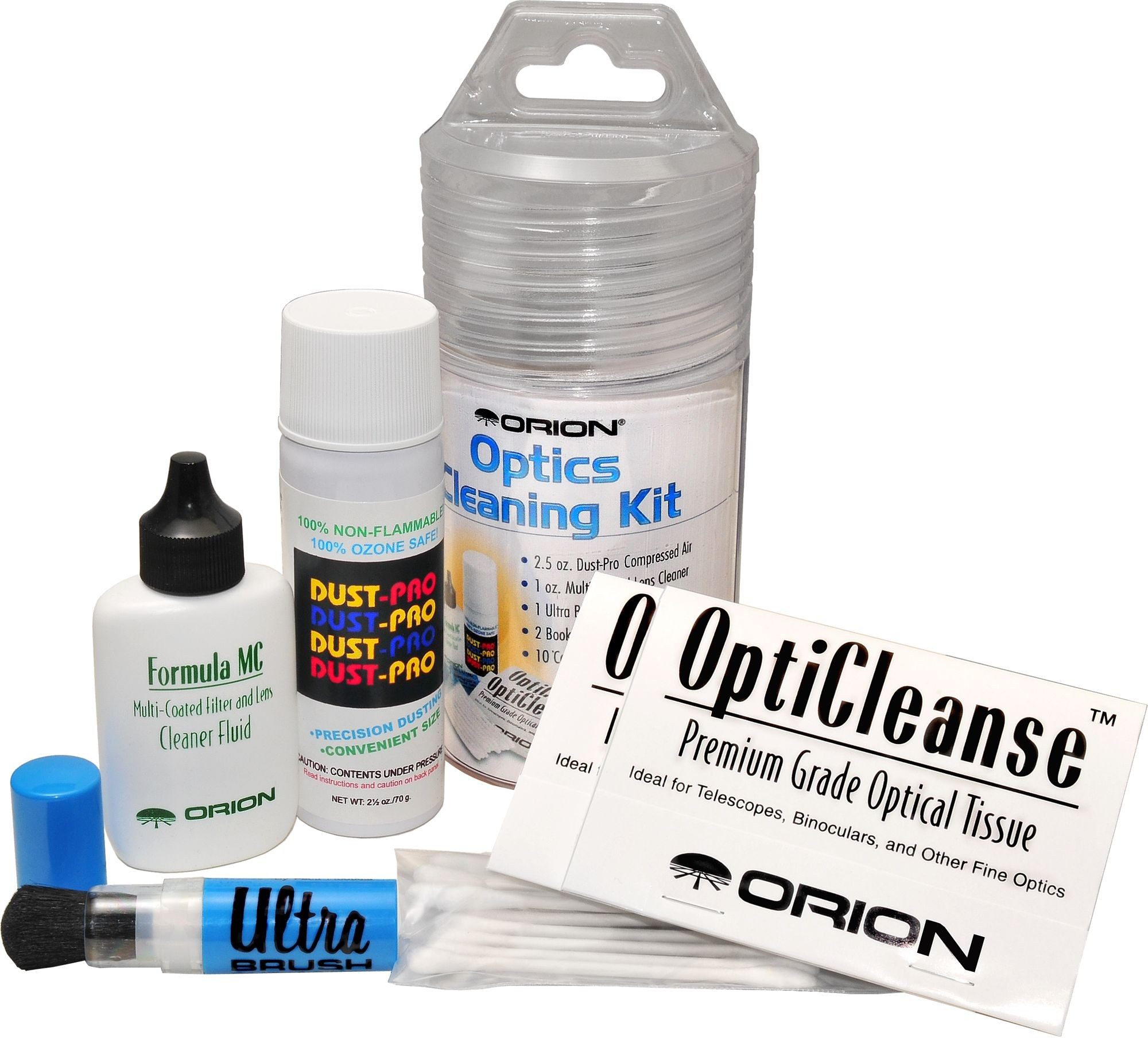 Orion Deluxe 6 Piece Optics Cleaning Kit