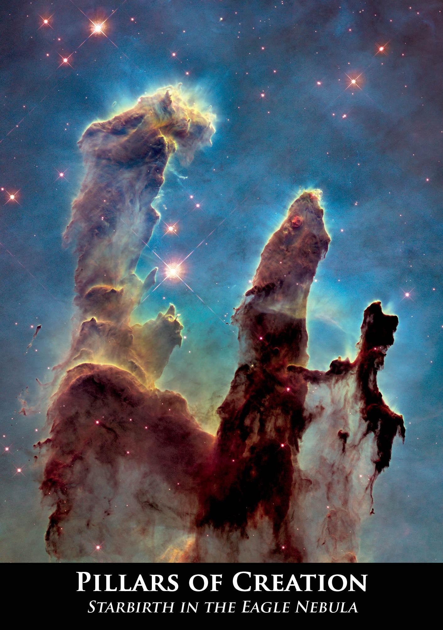 Astrovisuals Postcard - Pillars of Creation