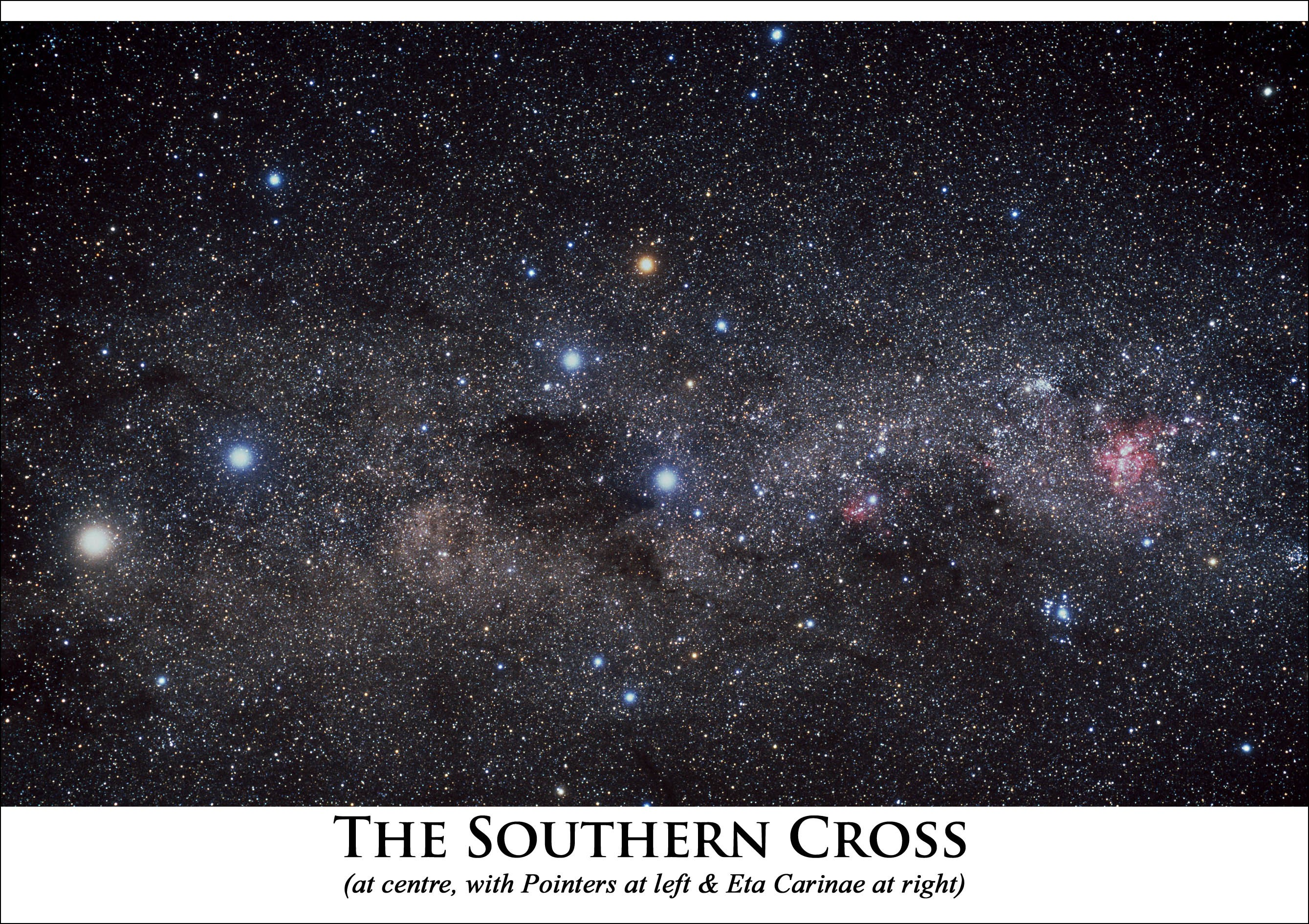Astrovisuals Southern Cross Postcard
