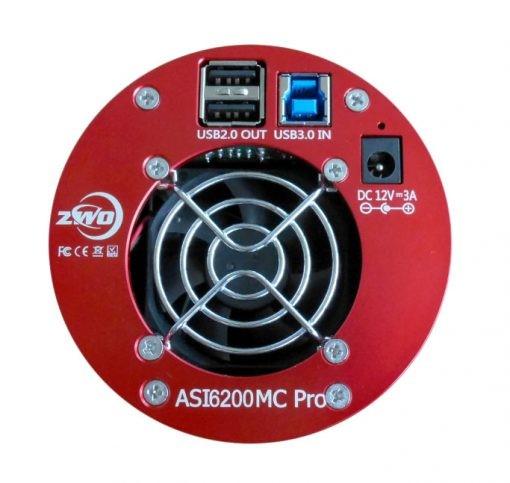 ZWO ASI6200MC-P Colour 60MP Cooled Camera