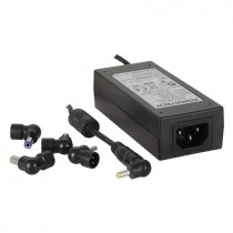 Universal Mains Desktop 12V AC Adapter + Power Plug