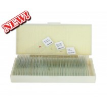 saxon Prepared Animal Biological Microscope Slides (50pc)