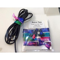 Astro Ties- Hair Ties/Cable Ties