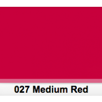 "LEE Filter Medium Red 027 Half Sheet (24"" x 21"") / Half Sheet"