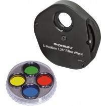 Orion Multiple 5 Filter Wheel And Basic Color Filter Set