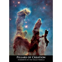 Astrovisuals Postcard - Pillars of Creation