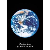 Astrovisuals Earth Postcard