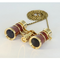 saxon 3x25 Opera Glasses (Red)