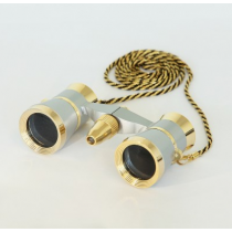 saxon 3x25 Opera Glasses with Light (Gold)