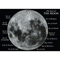 Astrovisuals Postcard Seas of the Moon