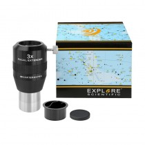 "Explore Scientific Super Achromatic 1.25"" 3x Focal Extender / Barlow"