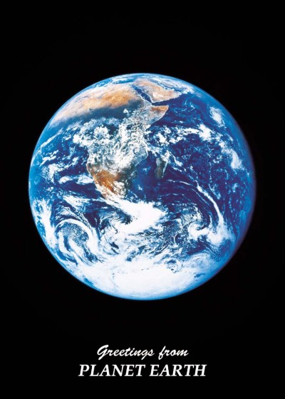 Astrovisuals Earth Postcard