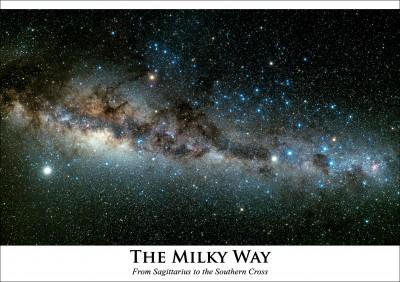 Astrovisuals Milky Way Postcard