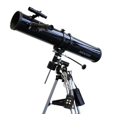 saxon 1149EQ Reflector Telescope with Motor Drive