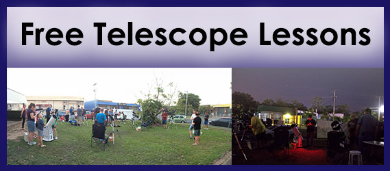 Free Telescope Lessons