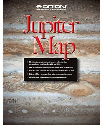 Orion Jupiter Map and Observing Guide