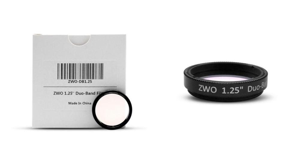 ZWO 1.25 inch DuoBand Filter