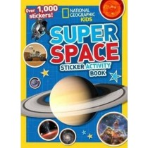 National Geographic Kids Super Space Sticker Activity Book: Over 1,000 Stickers by National Geographic Kids