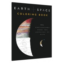 Earth and Space Coloring Book Featuring Photographs from the Archives of NASA