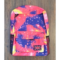 Galaxy Backpack Pink