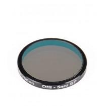 """Astrodon 1.25"""" 5nm Oxogen-III (OIII) Filter"""