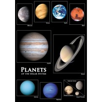 Astrovisuals Postcard Planets