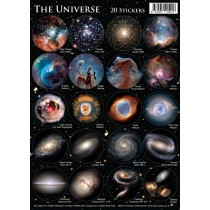 Astrovisuals Universe Set of 20 Stickers