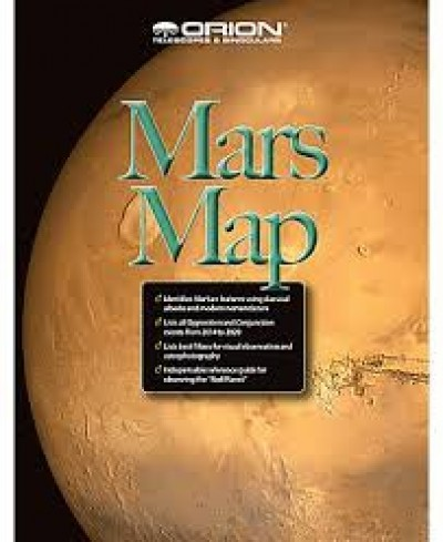 Orion Mars Map and Observing guide
